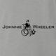 Funny Johnnie walker wheelchair parody ash t-shirt