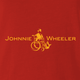Funny Johnnie walker wheelchair parody red t-shirt