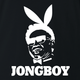 kim jong un jongboy north korean playboy black t-shirt