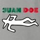 Funny Mexican Juan Doe ash grey t-shirt