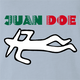 Funny Mexican Juan Doe light blue t-shirt