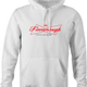 funny Kavanaugh Budweiser and Budweiser Light Beer Parody - Jokers parody men's hoodie white