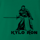 kylso ron swanson star wars green t-shirt