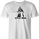 kylso ron swanson star wars ash grey t-shirt