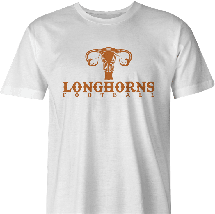 Funny texas longhorns suck fallopian tube parody men's t-shirt