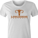 Funny texas longhorns suck fallopian tube parody women's t-shirt white
