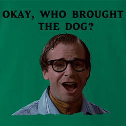 Funny Louis Tully Ghostbusters Good Doggie Parody men's t-shirt