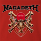 trump megadeth heavy metal MAGA Magadeath red t-shirt
