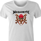 trump megadeth heavy metal MAGA Magadeath women's ash t-shirt