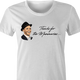 Thanks for the memory Frank Sinatra parody t-shirt women's white