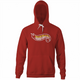 big shaq hot wheels mans not hot red hoodie