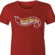 big shaq hot wheels mans not hot women's red t-shirt