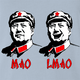 Funny Mao Zedong LMAO Parody Light Blue T-Shirt