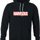 funny Marvel Comic Books Movie - Marvelous Mashup black hoodie