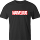 funny Marvel Comic Books Movie - Marvelous Mashup men's t-shirt