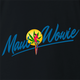 funny weed maui wowie strain black t-shirt