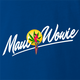 funny weed maui wowie strain royal blue t-shirt