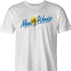 funny weed maui wowie strain men's white t-shirt