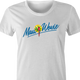 funny weed maui wowie strain women's white t-shirt
