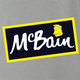 funny The simpsons McBain McCain frozen food mashup t-shirt grey