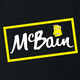 funny The simpsons McBain McCain frozen food mashup t-shirt black