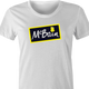 funny The simpsons McBain McCain frozen food mashup t-shirt white women's