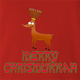 funny Merry Chrismukkah for x-mas and christmas holiday season Parody t-shirt red