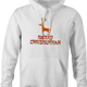 funny Merry Chrismukkah for x-mas and christmas holiday season Parody white hoodie