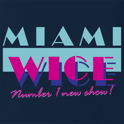 funny Eurotrip - Miami Wice Number 1 New Show On TV men's t-shirt