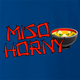 Me So Horny! Funny Miso Soup Full Metal Jacket Mashup royal blue t-shirt