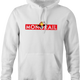 funny The Simpsons Lyle Lanley Monorail Monopoly mash-up white hoodie