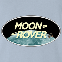 Funny Moon Rover All Terrain Parody Men's T-Shirt