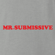 funny canadian mr. sub submissive ash grey t-shirt