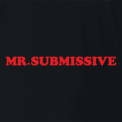 funny canadian mr. sub submissive white tee
