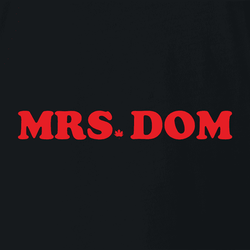 funny canadian mr. sub dominatrix white t-shirt