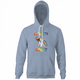 the rock my little pony brony light blue hoodie
