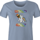 the rock my little pony brony women's light blue t-shirt