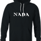 funny Nada, Nothing, Zip, Zilch, Zero, Nil High Fashion Parody Parody black hoodie