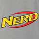 funny Nerdy Nerf Mashup For Geeks And Nerds ash grey t-shirt