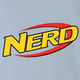 funny Nerdy Nerf Mashup For Geeks And Nerds Light Blue t-shirt