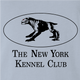 funny new york kennel club ghostbusters terror dog light blue t-shirt