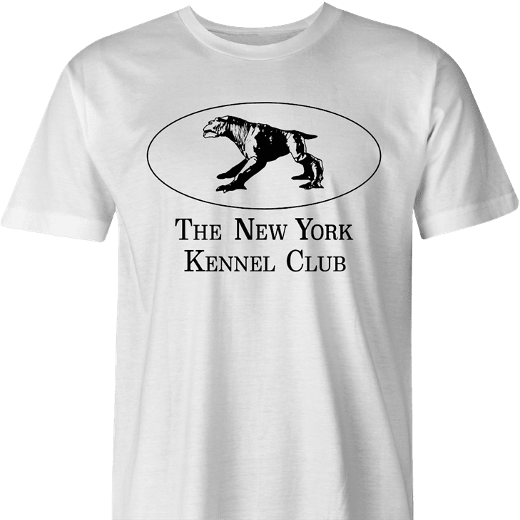 funny new york kennel club ghostbusters terror dog men's t-shirt