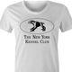 funny new york kennel club ghostbusters terror dog women's t-shirt