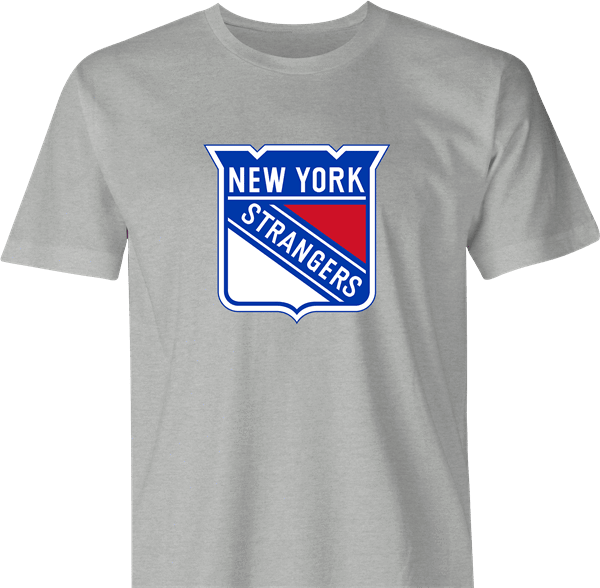 funny NHL Team Parody - New York Rangers Strangers men's t-shirt