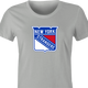 funny NHL Team Parody - New York Rangers Strangers t-shirt women's Ash Grey