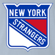 funny NHL Team Parody - New York Rangers Strangers light blue t-shirt