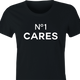 funny No One Cares Gift For Friend women's black