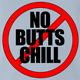 Funny Encino Man Movie | No Butts Chill Parody Red T-Shirt