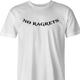 nor regrets no ragrets we're the millers parody t-shirt men's white