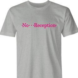 funny T-Mobile No Reception Parody men's t-shirt
